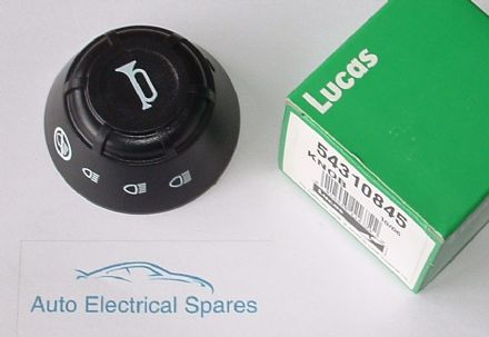 lucas 54310845 switch knob